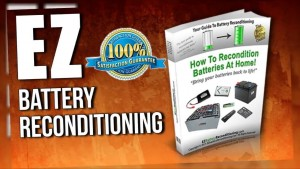 EZ Battery Reconditioning method pdf